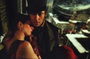 Hugh Jackman e Anne Hathaway. Sofrimento com rima da Boradway